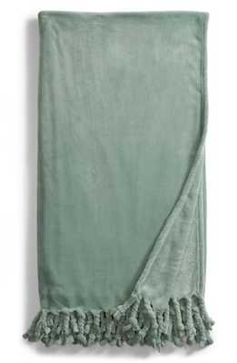 Kennebunk Bliss Plush Throw, Size One Size - Green - Nordstrom