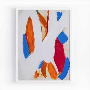 The Arts Capsule Framed Print, Snow Canary - West Elm