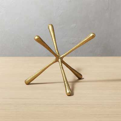 Adra Small Brass Decorative Object - CB2