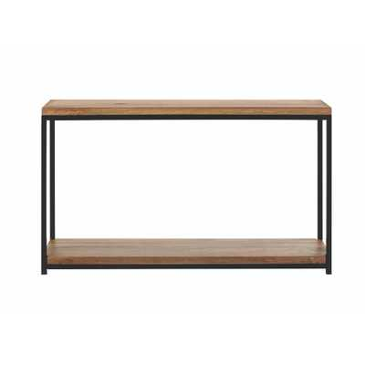 Anjou Natural Console Table - Home Depot