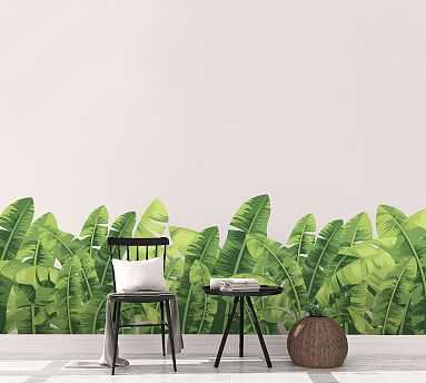 Banana Leaves Wall Decal - Pottery Barn