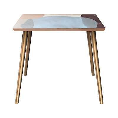 Corrigan Studio Ewert End Table: Natural - Brass - eBay