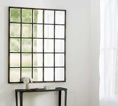"Eagan Multipanel Large Mirror, 44 x 55"", Bronze Finish - Pottery Barn"