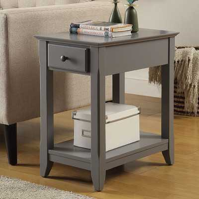Hillyard End Table With Storage - Wayfair