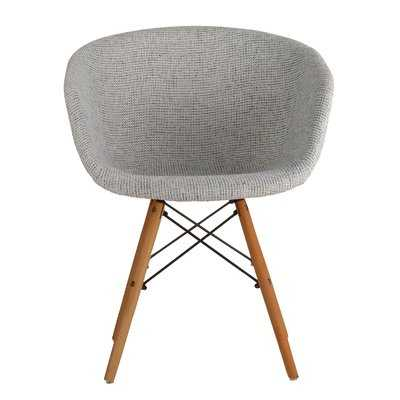 Barrette Modern Upholstered Dining Chair - AllModern
