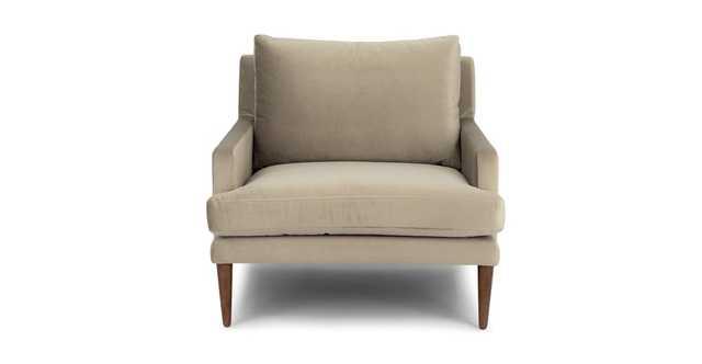 Luxu Shitake Taupe Chair - Article