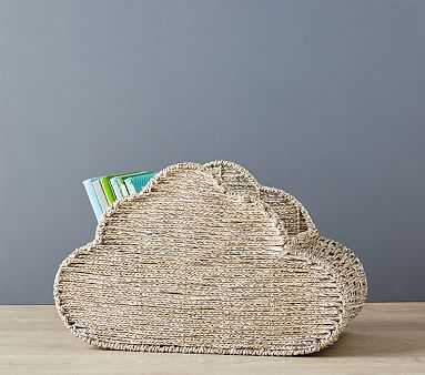 Silver Roped Cloud Storage - Pottery Barn Kids