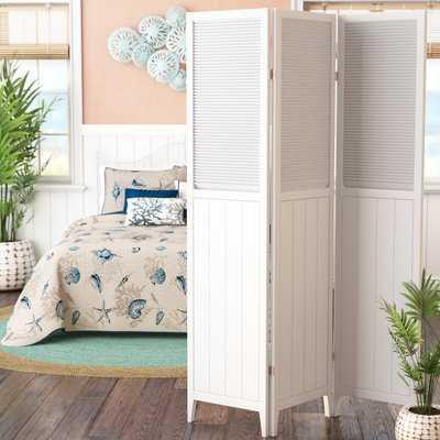 Brigitte 3 Panel Room Divider - Wayfair