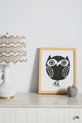 Little Owl Wall Art - Anthropologie