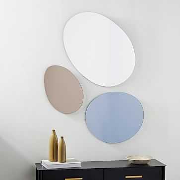 Pebble Trio Mirrors (Set of 3) - West Elm