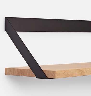 "28"" Oak Shelf & Bracket Set - Rejuvenation"