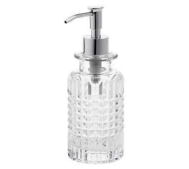 Pressed Glass Soap/Lotion Pump - Pottery Barn