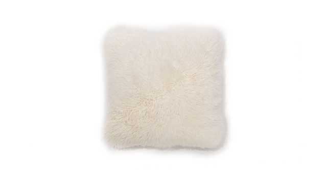 Balla Ivory Sheepskin Pillow - Article