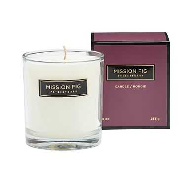 Signature Homescent Candle Pot - Mission Fig - Pottery Barn