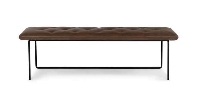 Level Bella Brown Bench - Article