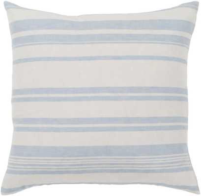 "Baris - 18"" x 18"" Pillow with Down insert - Neva Home"