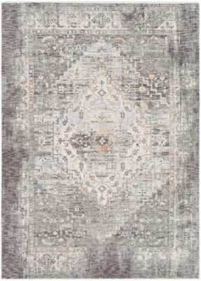 "Finnley Rug, 5'x 8'2"", Gray - Cove Goods"