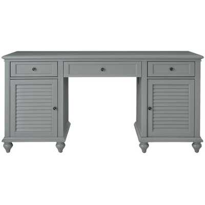 Hamilton Grey Desk - Home Depot