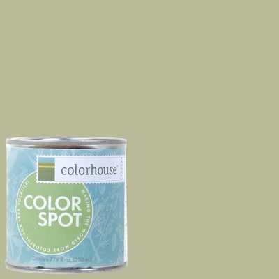 Colorhouse 8 oz. Glass .03 Colorspot Eggshell Interior Paint Sample, Greens - Home Depot
