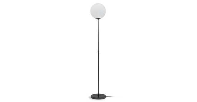 Moon Gunmetal Floor Lamp - Article