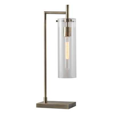 Adesso Dalton 24 in. Brass Table Lamp - Home Depot