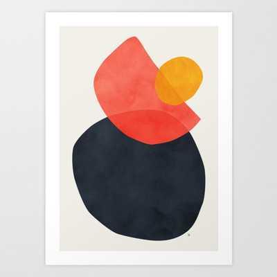 Balance Art Print - Mini by Matadesign - Society6