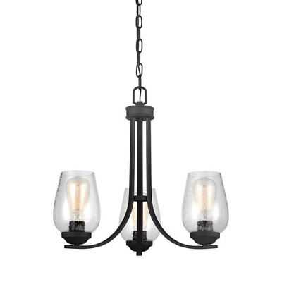 251 First Selby Black Three-Light Chandelier - 743999-2088868-251 - eBay
