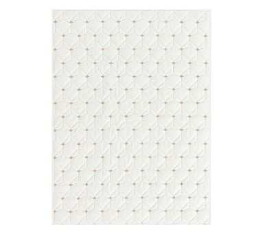 Coco Toddler Quilt, Ivory - Pottery Barn Kids