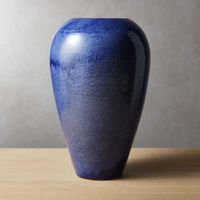 Soter Blue Vase - CB2
