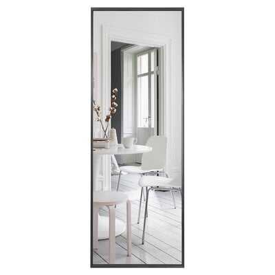 Aluminum Colorado Springs Wide Frame Full Length Mirror Wall-Mounted Mirror Standing Hanging Or Leaning Against Wall,Floor Mirror, Dressing Mirror - Wayfair