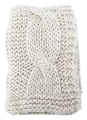 Greyleigh Forsan Chunky Knit Throw - eBay