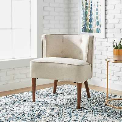 Maison Rouge Sierra Off White Accent Chair - eBay