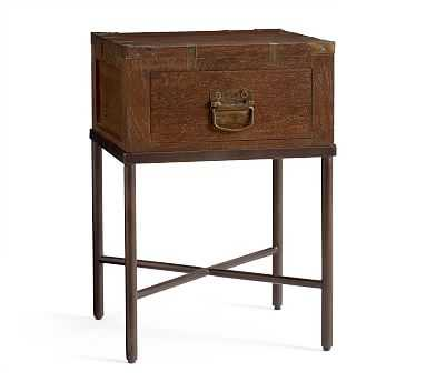 Timor Nightstand, Antique Brown - Pottery Barn