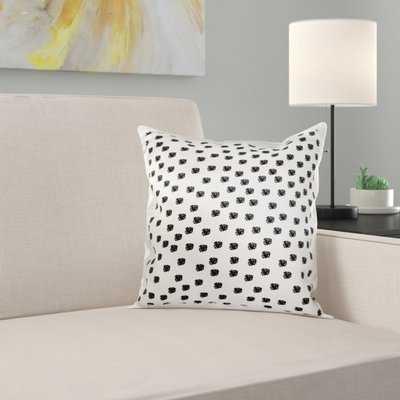 Dalmatian Spots Dogs Animal Print Pillow Cover - Wayfair