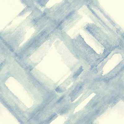 Cloud Nine District Removable Wallpaper, Blues - Home Depot