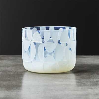 Lanai Glass Tea Light Candle Holder - CB2