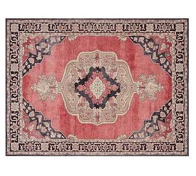 Kayson Tonal Printed Rug, Red Multi, 8 x 10' - Pottery Barn