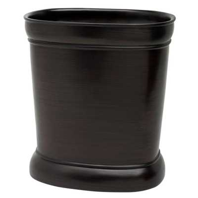 India Ink Marion Waste Basket in Oil Rubbed Bronze - Home Depot
