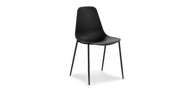 Svelti Pure Black Dining Chair- set of 2 - Article
