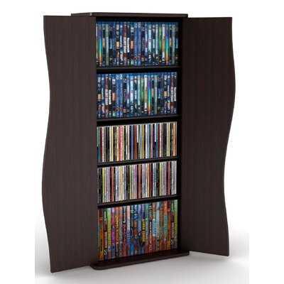198CD/88DVD Multimedia Cabinet - Wayfair