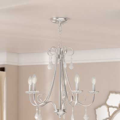Devan 5-Light Semi Flush Mount - Wayfair