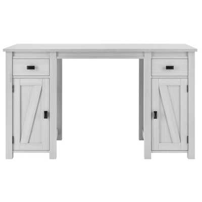 Brownwood White Craft Table - Home Depot