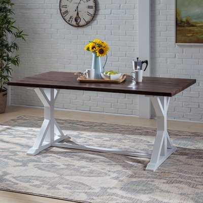 Hobby Traditional Solid Wood Dining Table - Wayfair