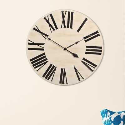 Oversized Farmhouse Wall Clock - Birch Lane