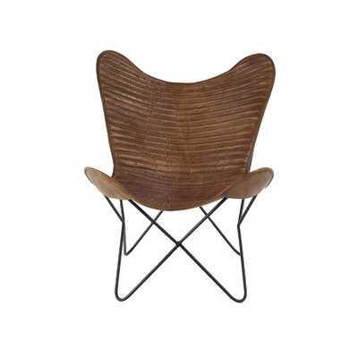 Wellfleet Modern Butterfly Side Chair - Wayfair