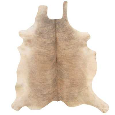 Cowhide Light Brindle 7 ft. x 7 ft. Indoor Area Rug - Home Depot