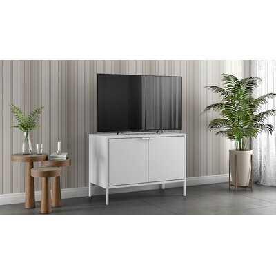 Rayford Low Wide Storage Cabinet - Wayfair