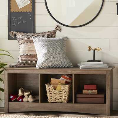 Penelope Wood Storage Bench - Wayfair
