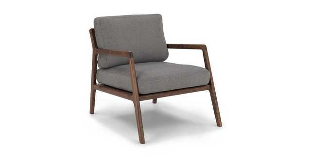 Denman Storm Gray Chair - Article