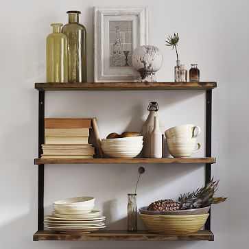 L-Beam Shelf, Short, Burnt Wax - West Elm